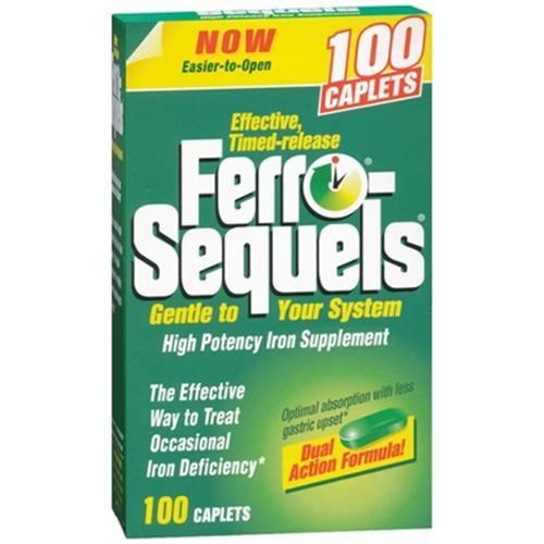 Ferro-Sequels Tablets 65 Mg 100 Tablets (Pack of 4)