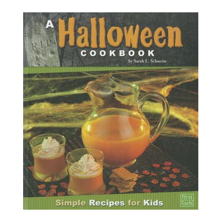 A Halloween Cookbook : Simple Recipes for Kids - Vintage Halloween Recipes