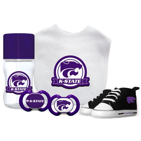 NCAA Kansas State University 5-Piece Baby Gift Set Ncaa Kansas State Wildcats Pattern