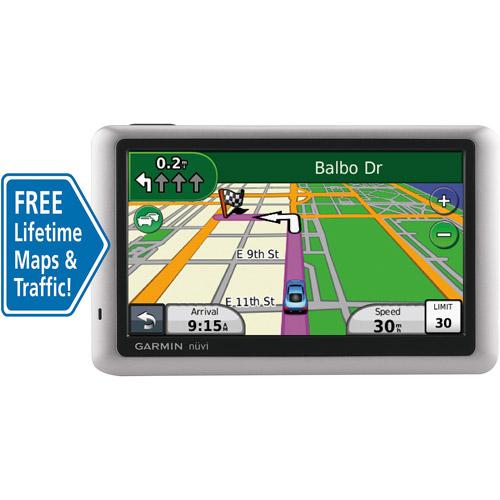 "Refurbished Garmin nuvi1450LMT 5"" GPS with Lifetime Maps & Traffic Updates"