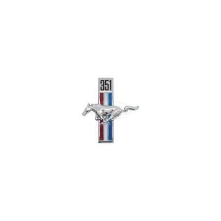 MACs Auto Parts Premier  Products 44-41163 - Mustang 351 Running Horse Emblem, (Horse Emblem)