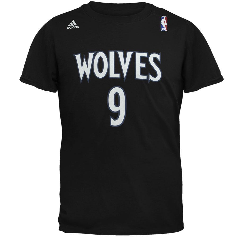Minnesota Timberwolves - Rubio Name And Number Alternate Mens T Shirt