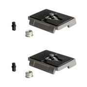 Set of 2 Manfrotto Quick Release Plate with Special Adapter (200PL)