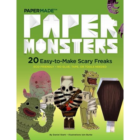 Paper Monsters: 20 Easy-To-Make Scary Freaks: Just Punch Out, Fold Up, and Eeeek! (Paperback)](Monster Craft)