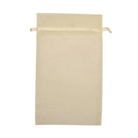 JAM Paper Sheer Bag, Large, 5 12/