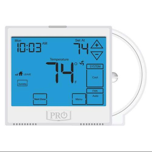 Pro1 Iaq Thermostat, 7 Day Programmable, Stages 3 Heat/2 ...