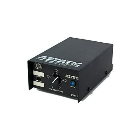 CAD Audio Astatic VARIABLE POLAR PATTERN, HANGING MICROPHONE - BLACK