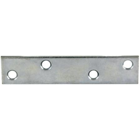 Zinc Plated Mending Plate - Part 60823 8 X 1-3/16  Zinc Plate Mending Plate, by Proven Brands, Single Item,