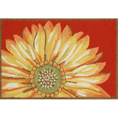 Trans-Ocean Rug Frontporch Sunflower Doormat by Supplier Generic