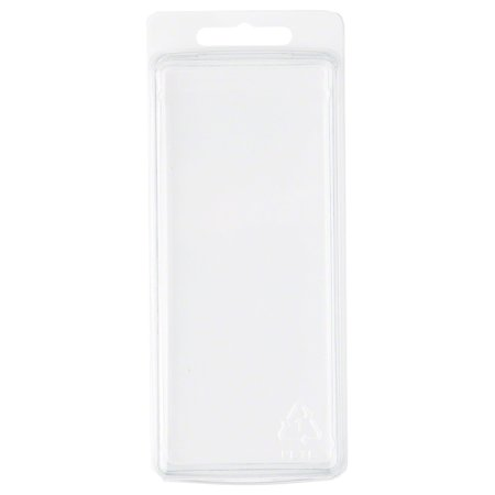 - Clear Plastic Clamshell Package / Storage Container, 5