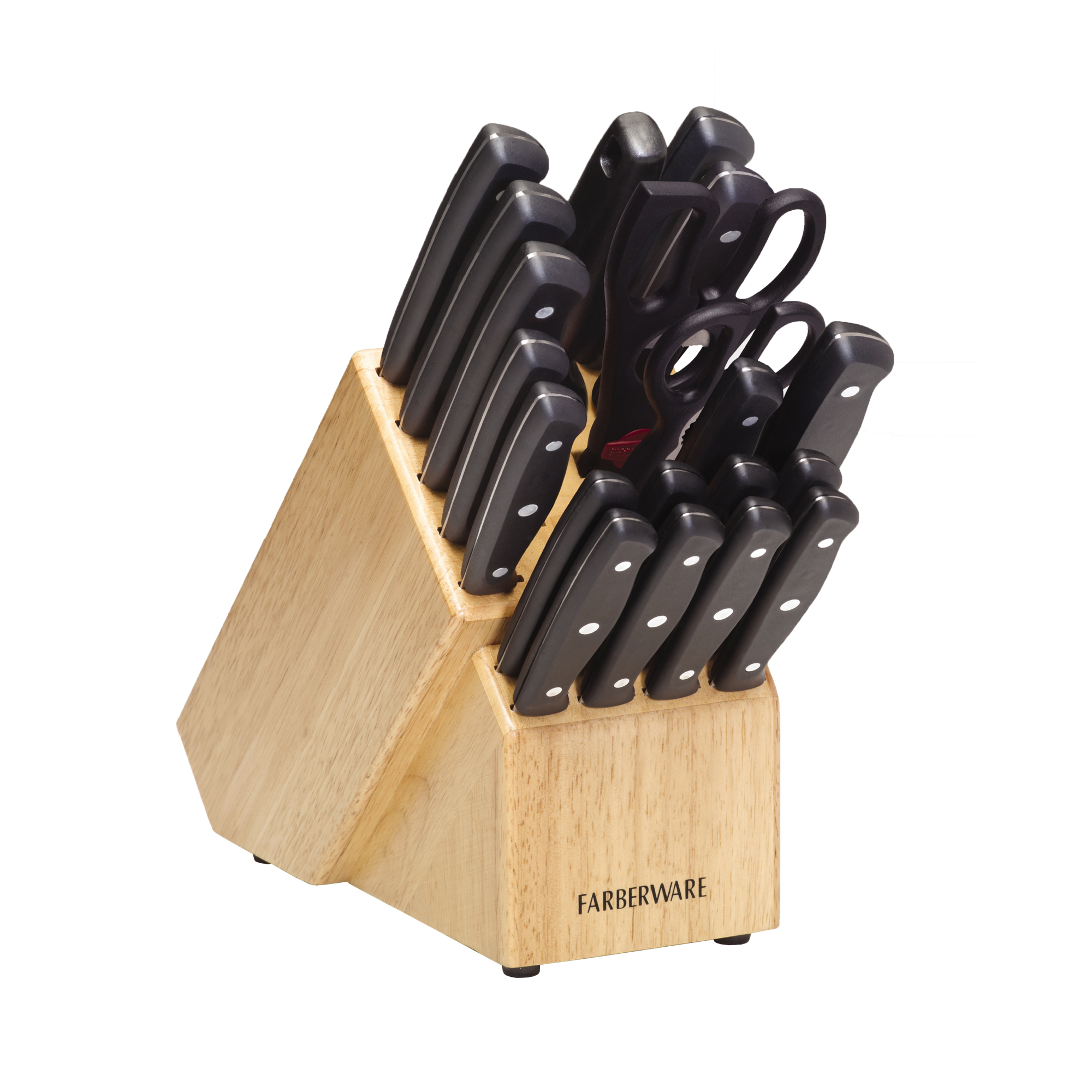 Farberware Traditions 21 Piece Cutlery-Knife Block Set