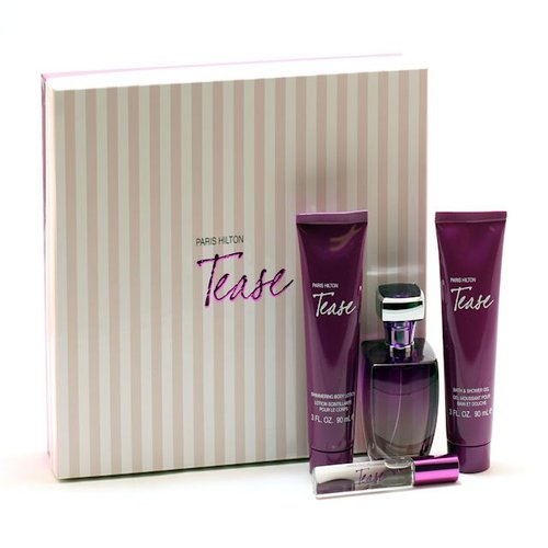 Tease For Women By Paris Hilton - 34 Sp/ 3 Body Lotion/ 3 Shower Gel/ Mini Size: Set