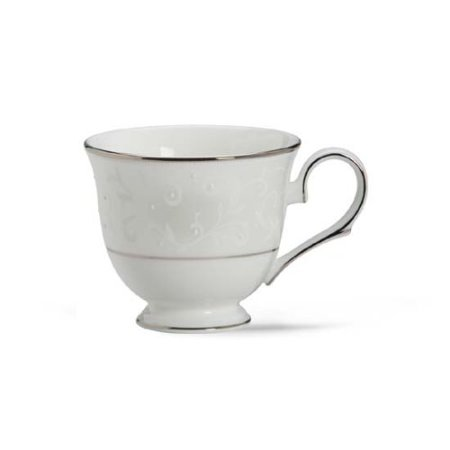 - Lenox Opal Innocence Platinum Banded Bone China Cup