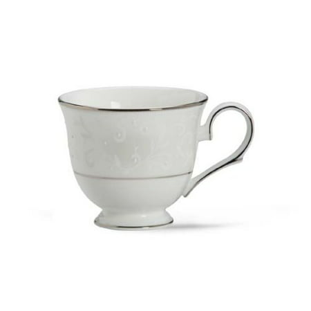 Lenox Opal Innocence Platinum Banded Bone China Cup Monroe Lenox China