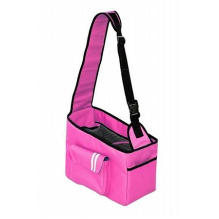 Pet Life B17PKMD Pink Summit Shoulder Pet Carrier - image 1 of 1