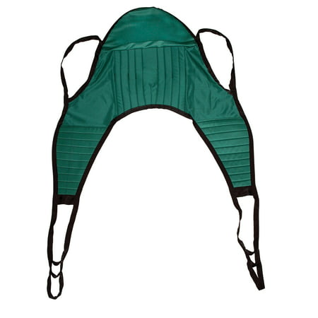 Leg Sling - Drive Medical Padded U Sling, with Head Support, Large