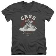 CBGB High Tops Mens V-Neck Shirt