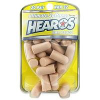 Hearos Ear Plugs, Ultimate Softness Series 20 pairs