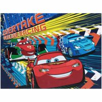 Disney Cars Light Up Canvas Wall Art with BONUS LED Lights