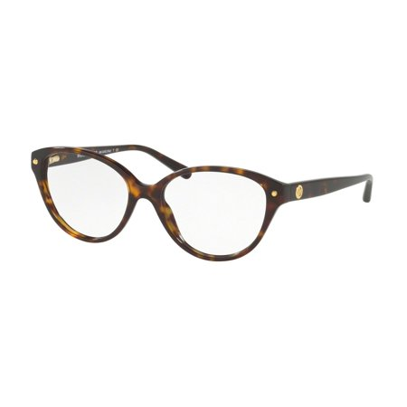 Michael Kors 0MK4042 Full Rim Cat Eye Womens Eyeglasses - Size 53 (Dark Tortoise Acetate) (Black Michael Kors Frames)