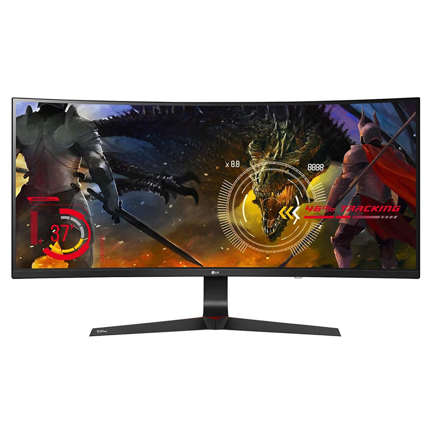 "LG 34"" Class 21:9 UltraWide Full HD IPS Curved LED Gaming Monitor with G-SYNC"