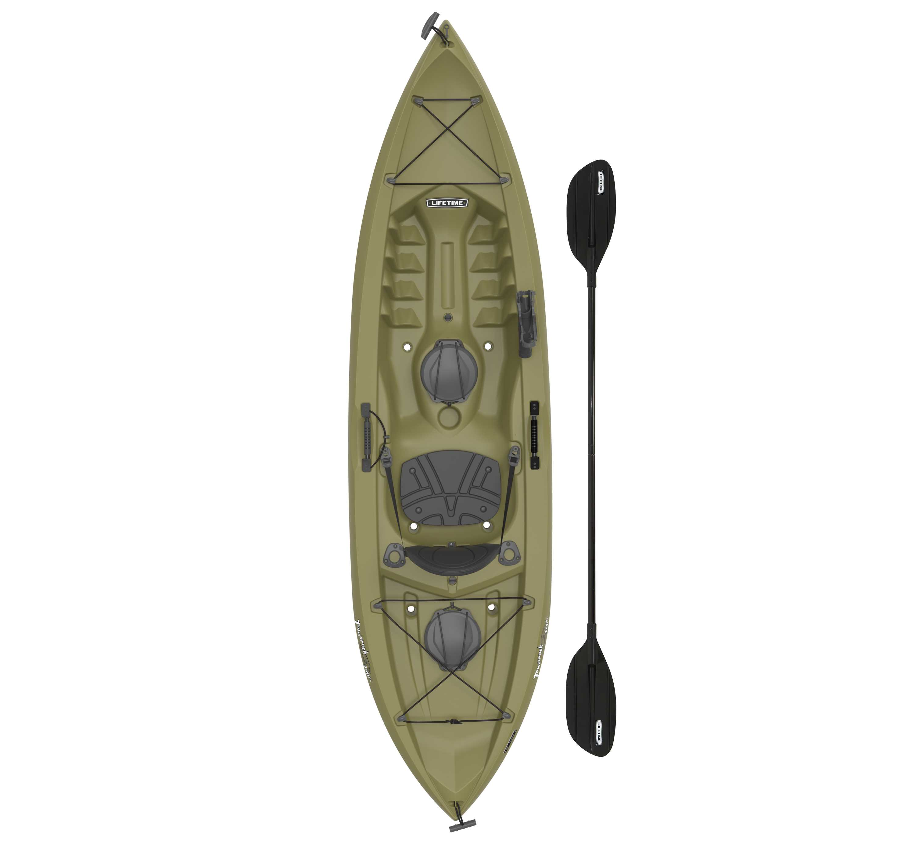 Lifetime Tamarack Angler 100 Fishing Kayak Paddle Included Walmart