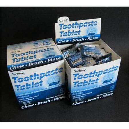 (Archtek 543-CM Toothpaste Tablets 100 Carton-Box - Box Of 100)
