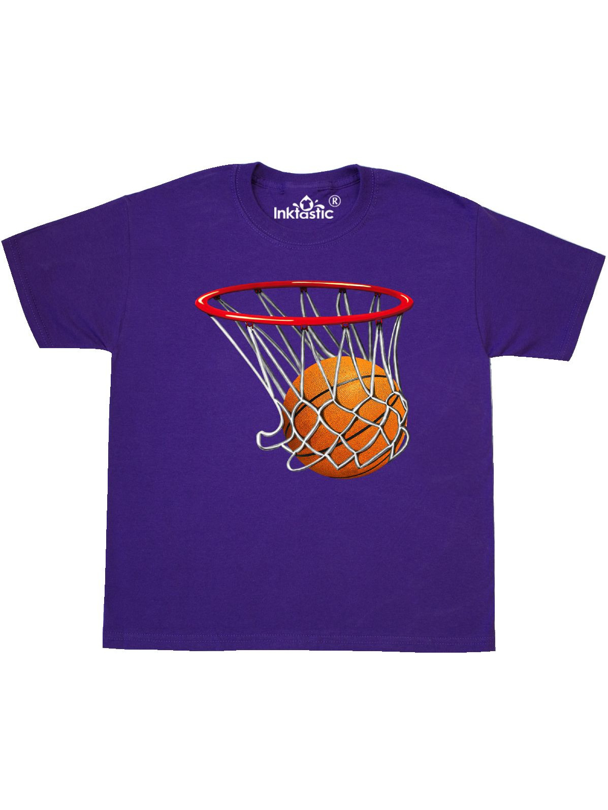 Basketball Swish Youth T-Shirt