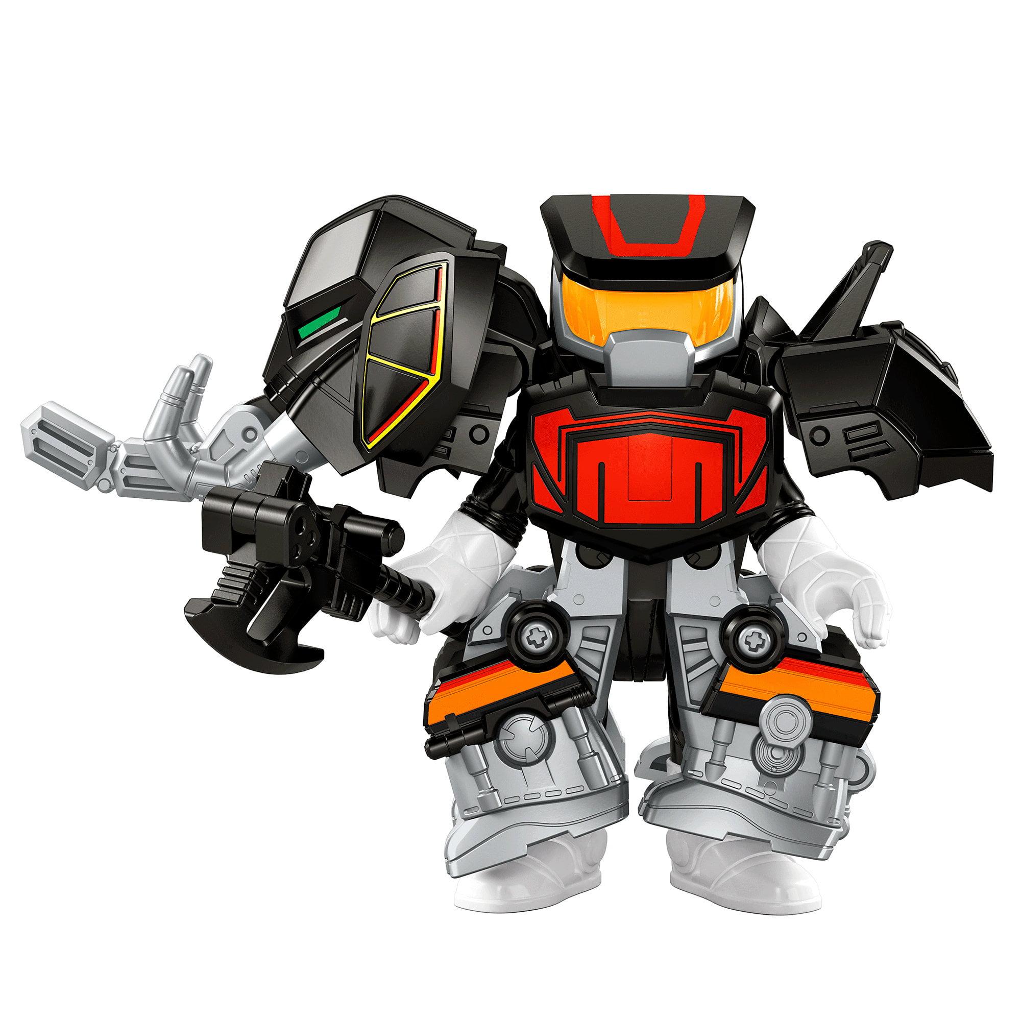 IMaginext Power Rangers Battle Armor Black Ranger by Imaginext