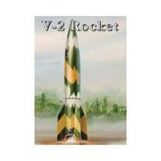 8416 1/48 E-Z Snapz V-2 Rocket Multi-Colored