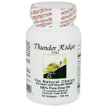 Thunder Ridge Emu Gel Oil Caps  90 Ct