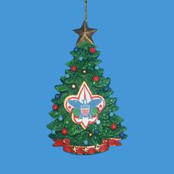 club pack of 12 boy scout christmas tree ornaments - Boy Scout Christmas Trees