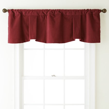 - Darby Home Co Angeletta 54'' Velvet Curtain Valance