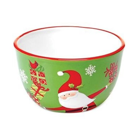 Do Bells Christmas Ring (Certified International Christmas Presents Santa Ice Cream Bowl )
