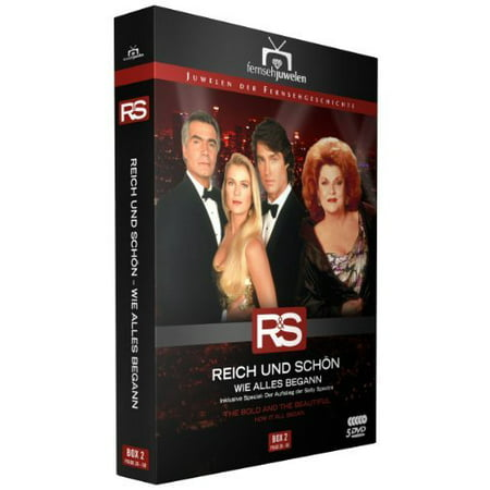 The Bold and the Beautiful - How It All Began (Ep. 26-50) - 5-DVD Box Set ( Bold and the Beautiful - Box 2 - Episodes 26-50 ) ( Bold & the Beautiful - B [ NON-USA FORMAT, PAL, Reg.2 Import -