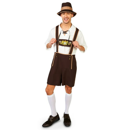 Oktoberfest Guy Adult Costume - Fat Guy Costumes