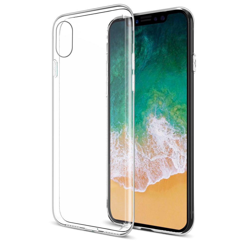 Luxmo Case For iPhone X Cases Protectors Crystal Skin Clear