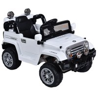 Costway 12V MP3 Kids Ride On Truck  Car RC Remote Control w/ LED Lights Music