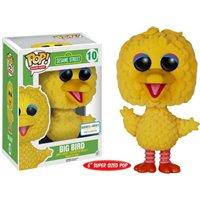 Big Bird Sesame Street Funko Pop! #10 FLOCKED B&N Exclusive
