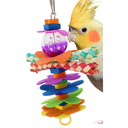 Flower Power Toy Bag - Bonka Bird Toys 1861 Flower Power Bird Toy