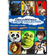 DreamWorks 4-Movie Collection: How To Train Your Dragon   Madagascar   Shrek   Kung Fu Panda by
