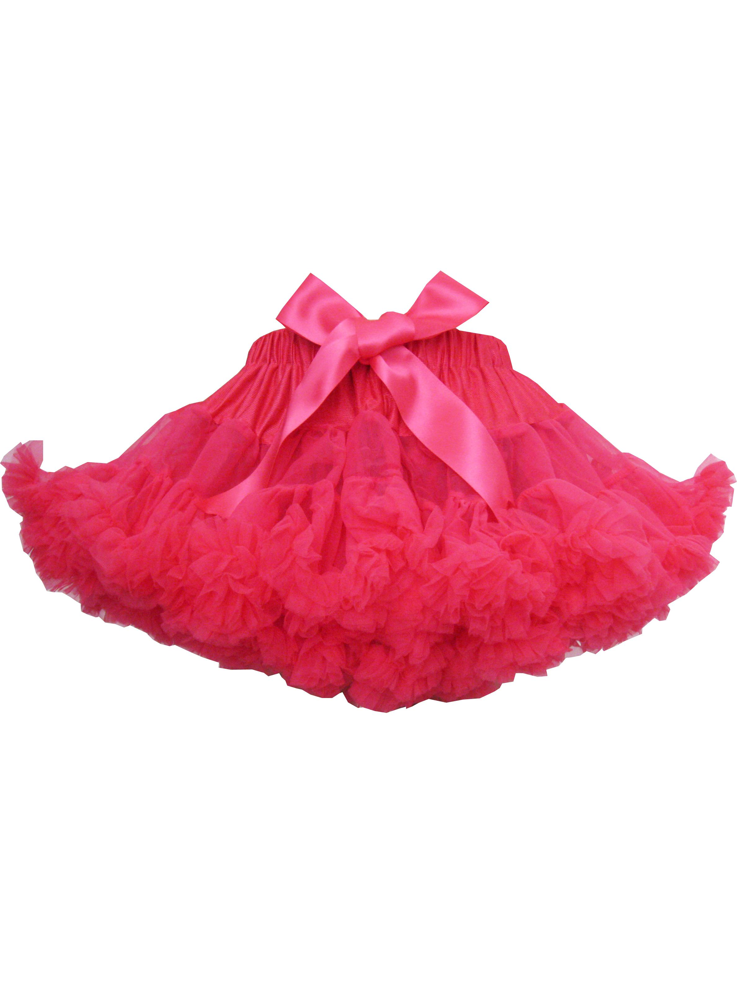Girls Skirt Dress Multi-layers Tutu Dance Pageant Bow Kids Clothes 2-3