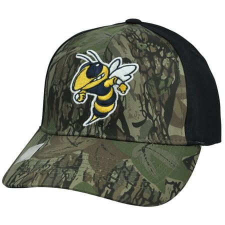NCAA Georgia Tech Yellow Jackets Freshman Camouflage Adjustable Hat (Georgia Camo)
