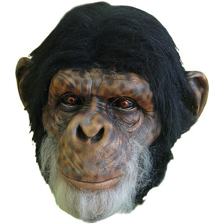 Chimp Adult Halloween Latex Mask Accessory