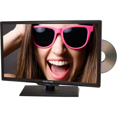 "Sceptre 19"" Class - HD, LED TV - 720p, 60Hz with Built-in DVD Player (E195BD-S)"