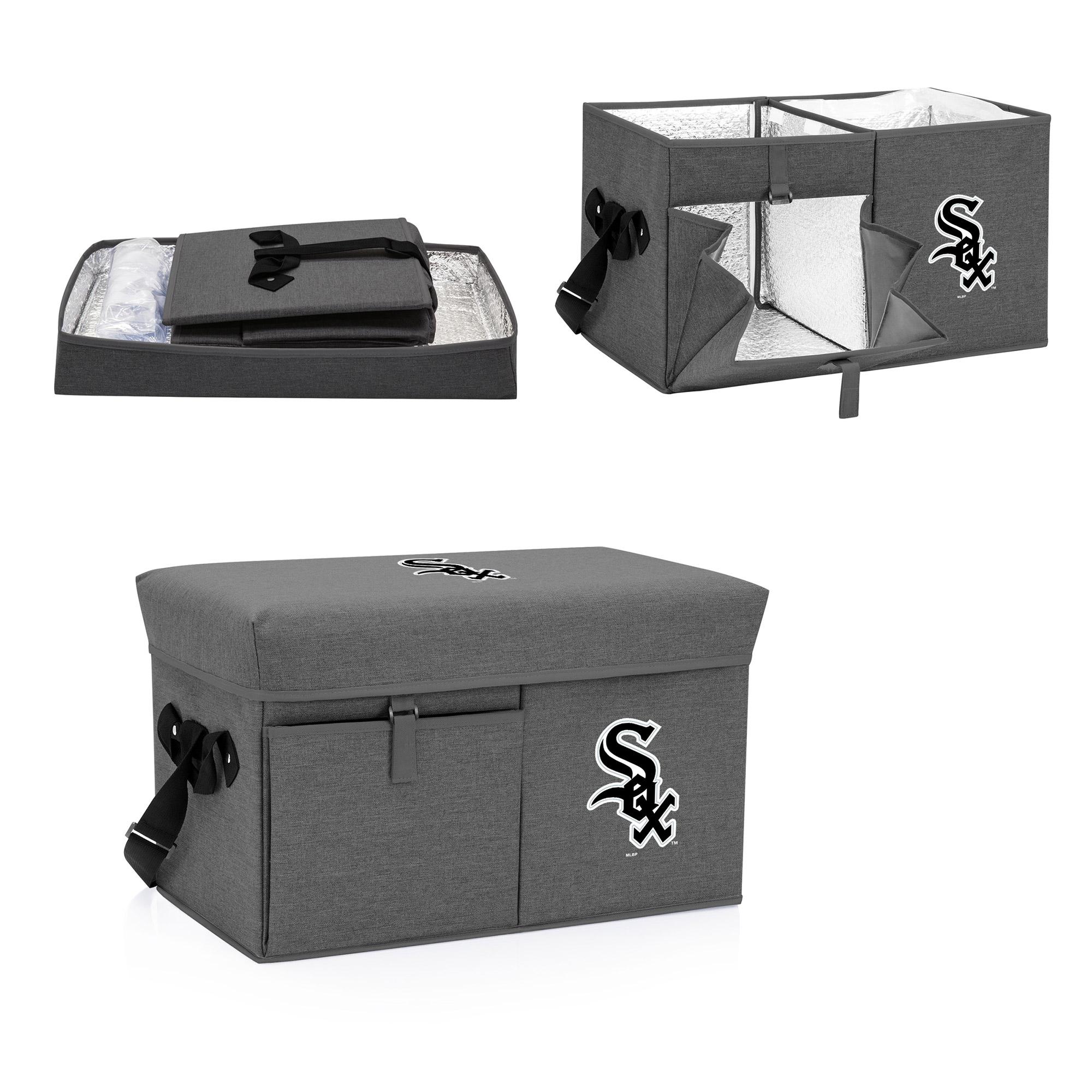 Chicago White Sox Ottoman Cooler & Seat - Gray - No Size