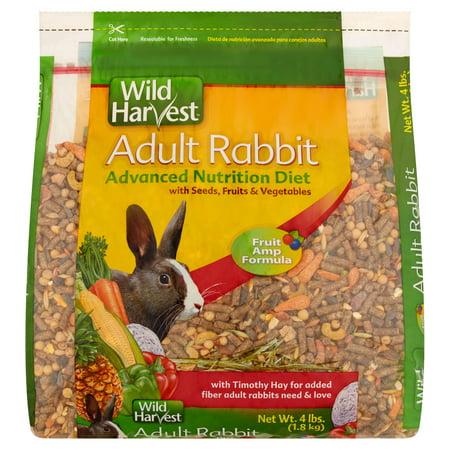 Wild Harvest Adult Rabbit Advanced Nutrition Diet, 4 lbs. - Rabbit's Foot For Sale