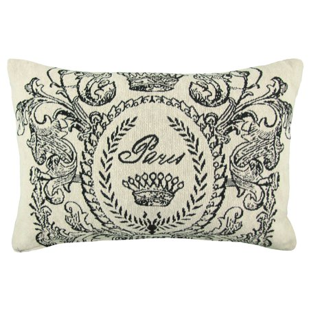 Vintage House by Park B. Smith Paris Postage Tapestry Decorative Pillow