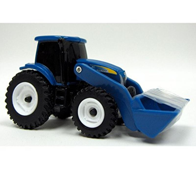 "ERTL Toys New Holland Tractor with Loader, 3"" by"