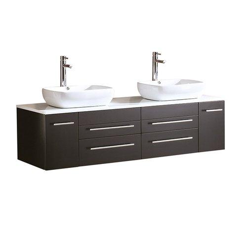 Fresca Bellezza 59'' Double Bathroom Vanity Set